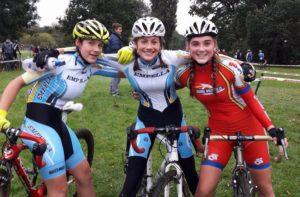 First three U16 girls (Photo: Maz Heffron)