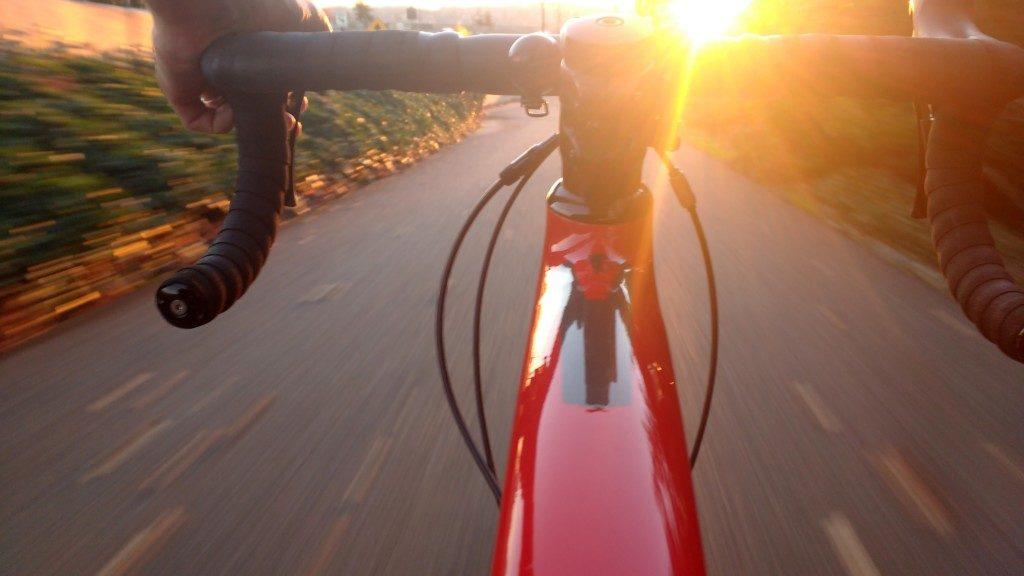 Pov on the bike...